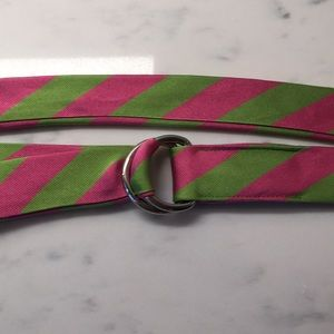 """J. Crew Silk """"tie"""" Belt"""
